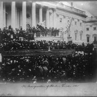 Frederick Douglass, at the inauguration of Abraham Lincoln, 1865