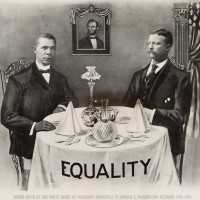 Booker T. Washington, A Guest of Honor